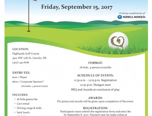 25th Annual Lincoln Parks Foundation Golf Tournament
