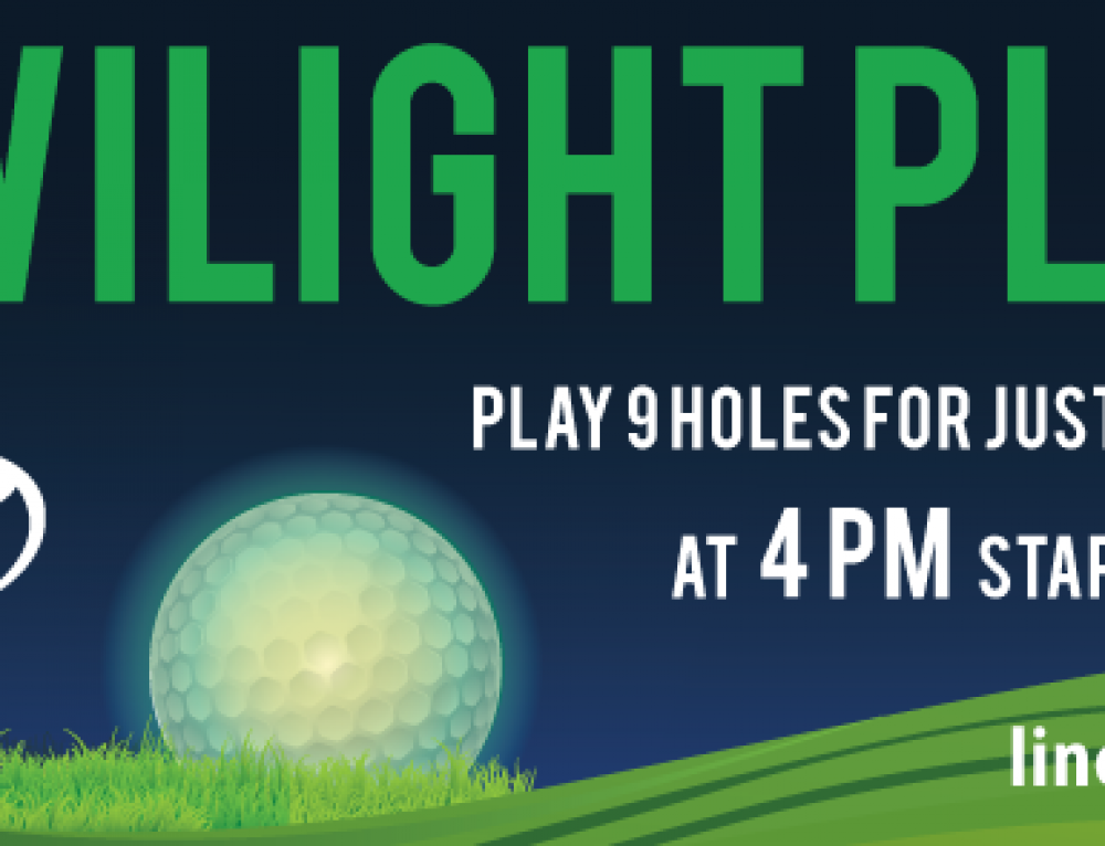 Twilight Play-Golfing in the Midst of Dusk