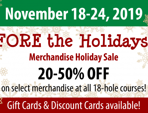 FORE the Holidays 2019!